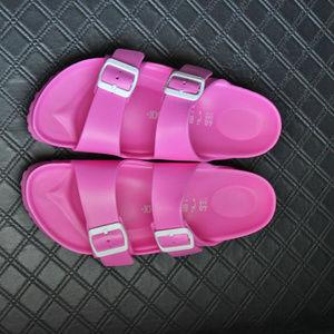Birkenstock Pink 2 strap Sandals